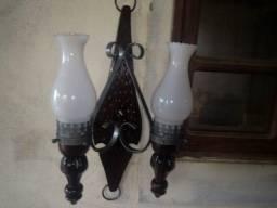 Luminárias Arandela Rústica Madelustre