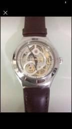 Título do anúncio: Relógio Swatch Suíço Automático Aço Inoxidável 21 Jóias