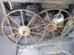 2 Rodas masissas de carroagem
