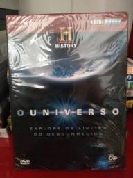 Box dvd o universo