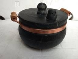 Panela de pressão de pedra sabão 5 litros