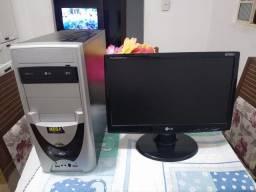 Desktop Computador Para Estudar/Trabalhar + Monitor de Brinde