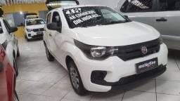 Fiat Mobi Esay 1.0 Flex 2018 Branco Dir. Hidráulica Ar Condicionado Super Novo Doc OK