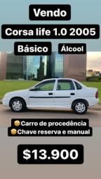 CORSA LIFE BÁSICO 2005 ( ÁLCOOL)