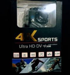 Câmera ultra HD 4K