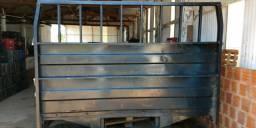 Carroceria de ferro facchini assualho de ferro e sobretaxa engate rapido
