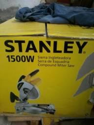 "Serra de Meia Esquadria 10"" Stanley 1500w"