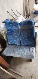 Poltrona Micro ônibus Mascarello semi novas