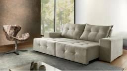 Promoção sofá retrátil e reclinável pronta entrega