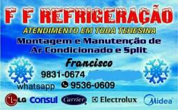 Instalação de split a partir de 170 reais