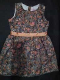 Lindo vestido Tam 3 anos