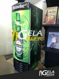 Geladeira metalfrio para cervejas garrafas até 8 caixas