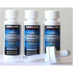 Minoxidi 5% Loção para crescimento de pelos (barba e cabelo)