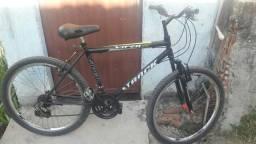 Bicicleta 18 marchas com amortecedor