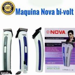Máquina Aparador Pelos Corta Cabelo Barba Recarregavel - entrega gratis