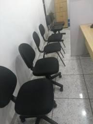 Cadeiras para escritório, excelente estado