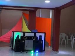 Aluguel Ofertão, Dj, Som, Telão, Iluminação, Pista de Dança, Leiam Anúncio