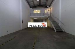 Pavilhão para alugar, 353 m² por R$ 6.500/mês - Navegantes - Porto Alegre/RS