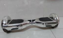 Hoverboard metálico prata