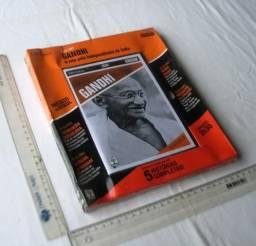 DVD Original Lacrado - Gandhi - Aventuras na História - Coleção Dias Que Abalaram o Mundo