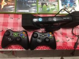 XBox 360+Kinect+15JOGOS