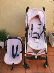Conjunto Carrinho e Bebê conforto Burigotto