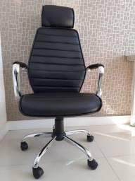 Cadeira Escritório Presidente 9341H ergonômica