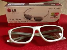 Oculos LG 3D Dual Play Games Glasses Modelo AG-F400DP Dual Play