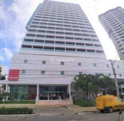 """Sala no Meireles para alugar, 32 m² por R$ 1.000/mês """"Ed. The One Tower"""""""