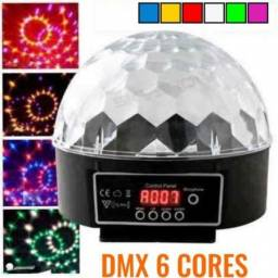 Bola Maluca Globo Led Rgb 24w Mp3