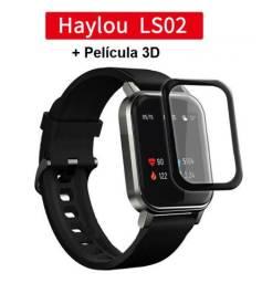 Smartwatch Xiaomi Haylou LS02 - Novo/Lacrado + Película 3D