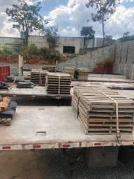 Paletes reforçados para carga de cimento