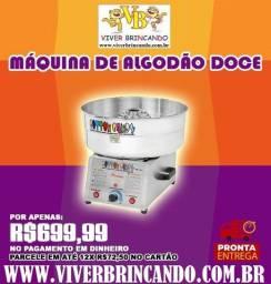 Máquina de Algodão doce 110/220v automática - Pinheiro