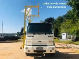 Linha de vida para caminhões