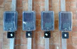 Poste padrão enel completo instalado