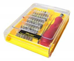 Título do anúncio: Kit De Chaves De Precisão C 32 Pçs P Celular C Pinça