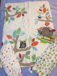 Edredon, manta e capa trocador INFANTIL