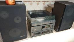 System Gradiente Spect 65 (Receiver + Tape-Deck + Toca-Discos + Caixas)