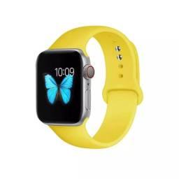 Pulseiras Smart Watch Apple Watch Borracha 42mm 44mm