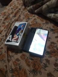 Samsung A21s uma semana de uso pego xaomi