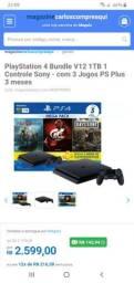 Loja virtual parceiro magalu vende - console ps4 e xbox one s