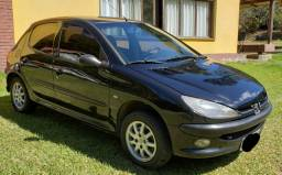 Peugeot 206 1.6 flex holiday 2006 completo