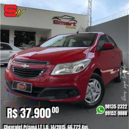 Smart Veículos - Chevrolet Prisma LT 1.0, 14/2015, 66.772 Km. R$ 37.900,00