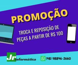 JR Informática ( Troca de peças em geral )