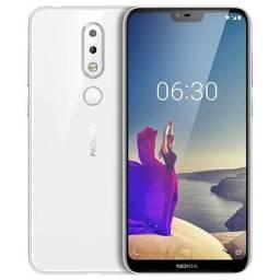 Smartphone Nokia X6 Plus - Novo Com Nota Fiscal 4GB Ram 64GB + Cartão Sd