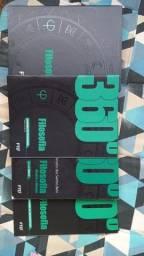 Box de livros didáticos de Filosofia FTD 360°