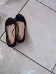 Vendo sapato Anabela veludo n° 37 me chamar no inbox