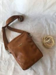 Bolsa Shoulder Bag em couro ecológico