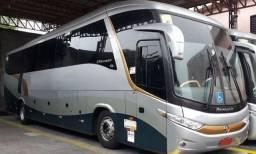 Ônibus Scania no boleto