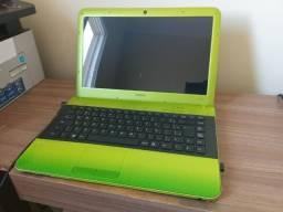 Título do anúncio: notebook sony vaio i3 500gb 4gb